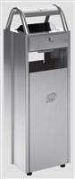 Acheter Cendrier corbeille extérieur 6 - 30 litres Argent ashtray