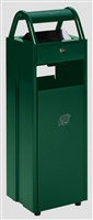 Acheter Cendrier corbeille extérieur 6 - 30 litres Vert ashtray