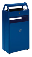 Acheter Cendrier corbeille extérieur 10 - 60 litres Bleu ashtray