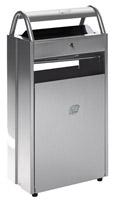 Acheter Cendrier corbeille extérieur 10 - 60 litres Argent ashtray