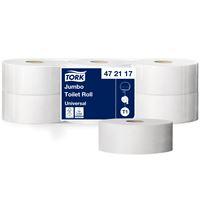 Acheter Papier toilette jumbo Tork 1 plis blanc 650 m colis de 6