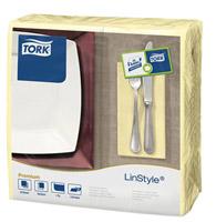 Acheter Serviette Tork Linstyle dinner champagne les 600