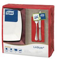 Acheter Serviette Tork Linstyle dinner coquelicot les 600