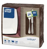 Acheter Serviette Tork Linstyle dinner cacao les 600