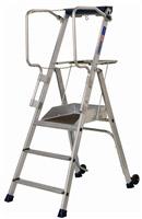 Acheter Plateforme individuelle roulante Duarib aluminium 3 marches