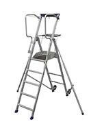 Acheter Plateforme individuelle roulante Duarib aluminium 5 marches