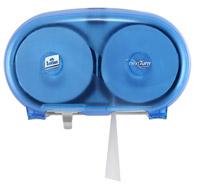Distributeur de papier toilette Lotus compact NextTurn Ensure Bleu