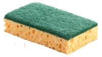 Acheter Tampon vert sur eponge 110 x 70 par 10