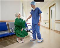Acheter Kit ambulatoire patient debout vert avec mules