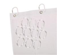 Acheter Anneaux pour rideau de douche lot de 12