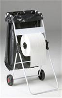 Acheter Derouleur bobine papier mobile avec support sac poubelle