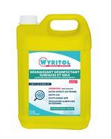 Acheter Wyritol desinfectant sols surfaces virus 5L