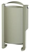 Acheter Cendrier corbeille Rossignol Arkéa 3L / 60 L gris ciment