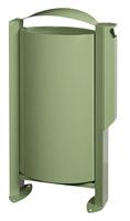 Acheter Cendrier corbeille Rossignol Arkéa 3L / 60 L vert reseda