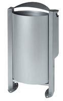 Acheter Cendrier corbeille Rossignol Arkéa 3L / 60 L gris metal