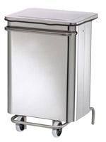 Acheter Poubelle de cuisine HACCP collecroule inox 70 L