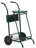 Acheter Chariot de voirie Rossignol vert roues pneumatiques
