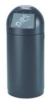 Acheter Poubelle Rossignol Cyvomax noir 52 litres sans cendrier