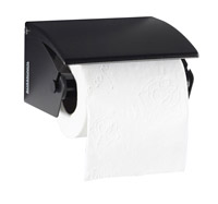 Acheter Distributeur papier toilette acier pour rouleaux gris manganese
