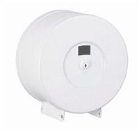 Acheter Distributeur papier toilette mini jumbo acier blanc fermeture à clef