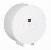 Acheter Distributeur papier toilette jumbo acier blanc fermeture à clef