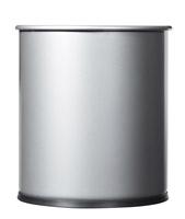 Acheter Corbeille papier 15L gris métal rossignol