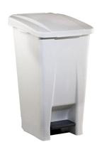 Acheter Poubelle de cuisine Rossignol 60 litres HACCP couvercle blanc
