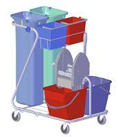 Acheter Chariot de lavage Dit international tri sélectif double