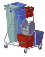 Acheter Chariot de ménage lavage Z rilsan tri- selectif
