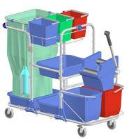 Acheter Chariot de menage lavage type hospitalier =DIT528