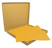 Acheter Nappe papier 60 x 60 cm orange colis 500
