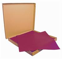 Nappe papier 60 x 60 cm bordeaux colis de 500