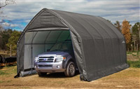 Acheter Garage demontable voiture structure acier et polyethylene 3,9 x 6,1 m