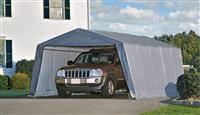 Acheter Garage demontable voiture structure acier et polyethylene 3,6 x 6,1 m