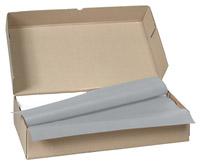 Acheter Nappe papier 70 x 110 cm gris colis de 250