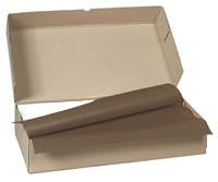 Acheter Nappe papier 70 x 110 cm chocolat colis de 250