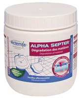 Acheter Alpha septer entretien ensemencement des fosses septiques toutes eaux
