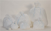 Acheter Sac poubelle 30 litres blanc colis de 500