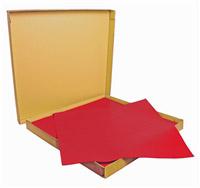 Acheter Nappe papier 70 x 70 cm rouge vif colis 500