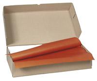 Acheter Nappe papier 70 x 70 cm terracota colis 500