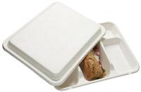 Acheter Couvercle plateau repas jetable biodégradable