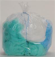 Acheter Sac poubelle 130 litres transparent colis de 200