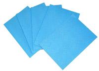 Acheter Lavette cuisine HACCP 35x50 bleue super par 25