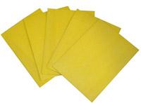 Acheter Lavette cuisine HACCP 35x50 jaune par 25