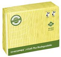Acheter Lavette biodégradable J-Cloth Plus jaune par 50