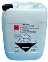 Acheter Javel concentree 36 degres Chlore usage professionnel bidon de 20 L