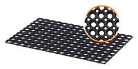 Acheter Tapis caillebotis caoutchouc exterieur 80 X 120 cm 17 mm