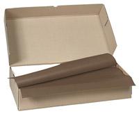Acheter Nappe papier 80 x 80 cm chocolat colis de 250