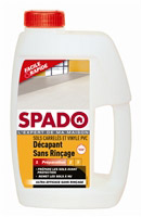 Acheter Spado décapant sans rinçage carrelage vinyle pvc 1l