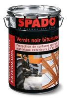 Acheter Spado vernis noir bitumeux seau 4L